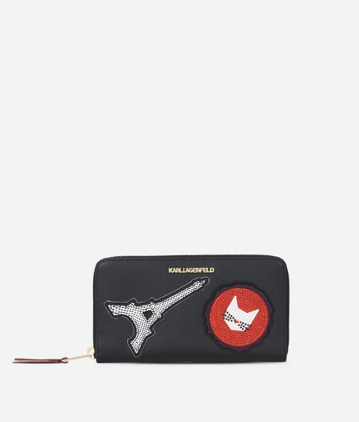 KARL LAGERFELD K/Paris Zip Wallet 12_f