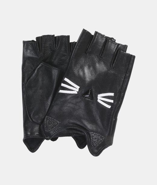 KARL LAGERFELD K/Paris Glitter Gloves 12_f