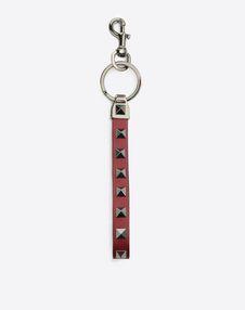 VALENTINO GARAVANI UOMO Key ring U Rockstud Key Chain f