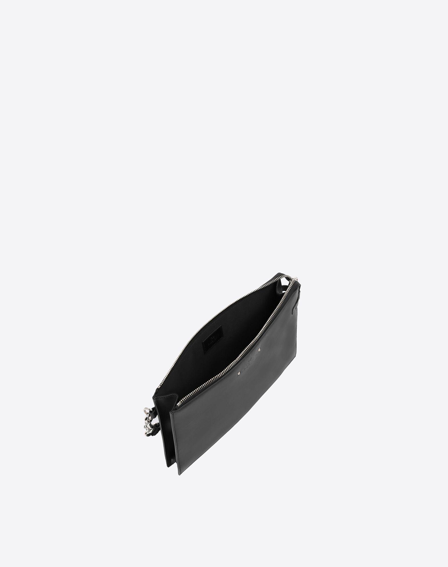 VALENTINO GARAVANI UOMO Handle Flat Pouch POUCH U e