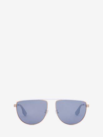 Sonnenbrille in Caravan-Form