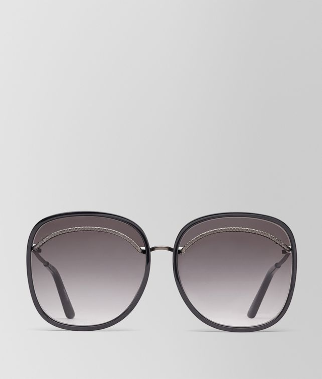 BOTTEGA VENETA NERO ACETATE SUNGLASSES Sunglasses Woman fp