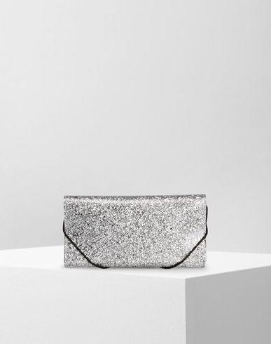 MM6 MAISON MARGIELA Wallet D PVC glitter wallet f