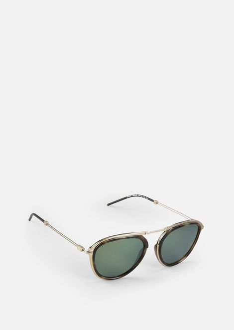 Metal Sunglasses With Coloured Lenses