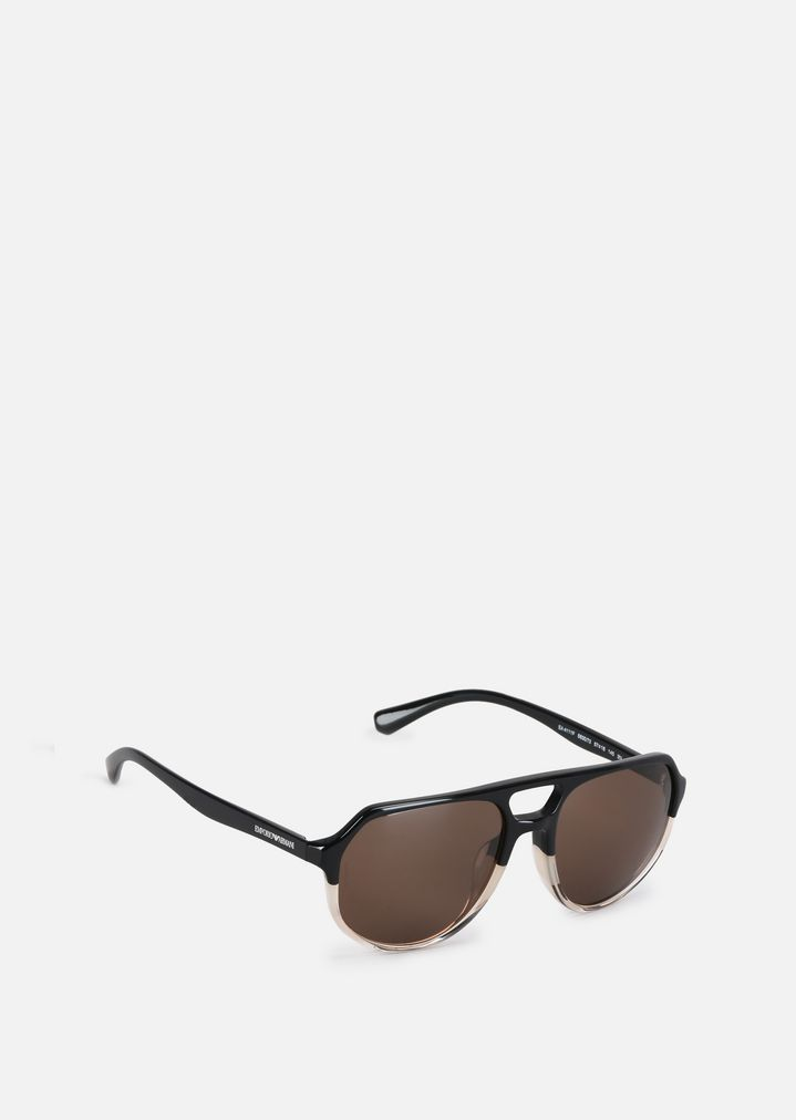 693805f0093 Aviator sunglasses with coloured lenses