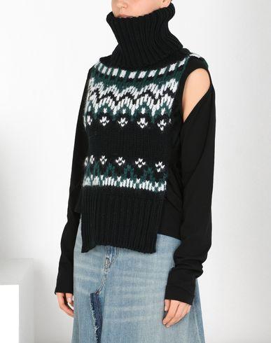 MM6 MAISON MARGIELA Icelandic knit stole  Stole D f