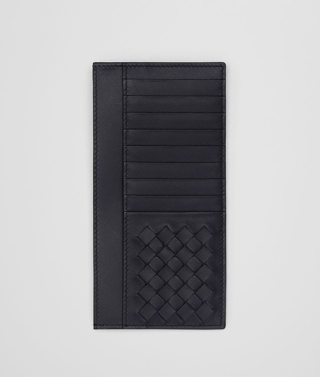 BOTTEGA VENETA TOURMALINE NAPPA CARD CASE Card Case or Coin Purse Man fp