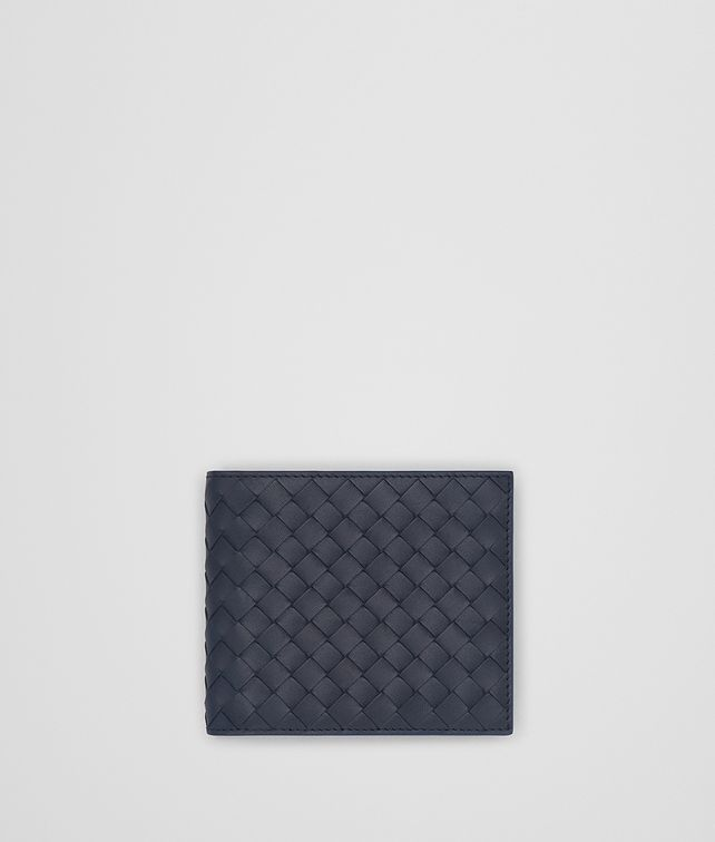 BOTTEGA VENETA LIGHT TOURMALINE INTRECCIATO WALLET Bi-fold Wallet Man fp