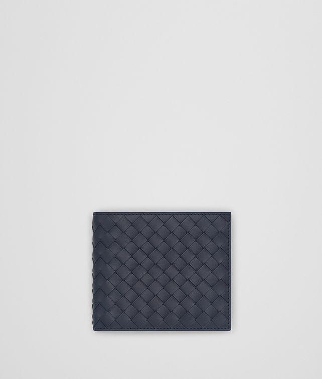 BOTTEGA VENETA LIGHT TOURMALINE INTRECCIATO WALLET Bi-fold Wallet [*** pickupInStoreShippingNotGuaranteed_info ***] fp