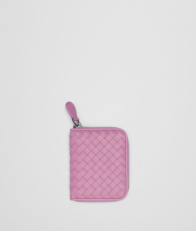 BOTTEGA VENETA TWILIGHT INTRECCIATO NAPPA COIN PURSE Card Case or Coin Purse Woman fp