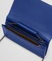 BOTTEGA VENETA COBALT INTRECCIATO NAPPA CONTINENTAL WALLET CHAIN WALLET Woman dp