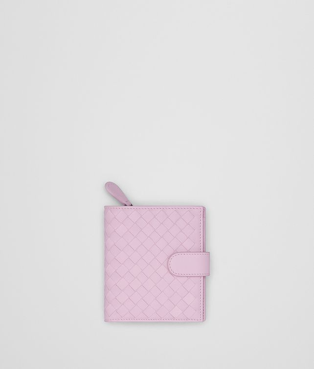 BOTTEGA VENETA DRAGEE INTRECCIATO NAPPA MINI WALLET Mini Wallet Woman fp