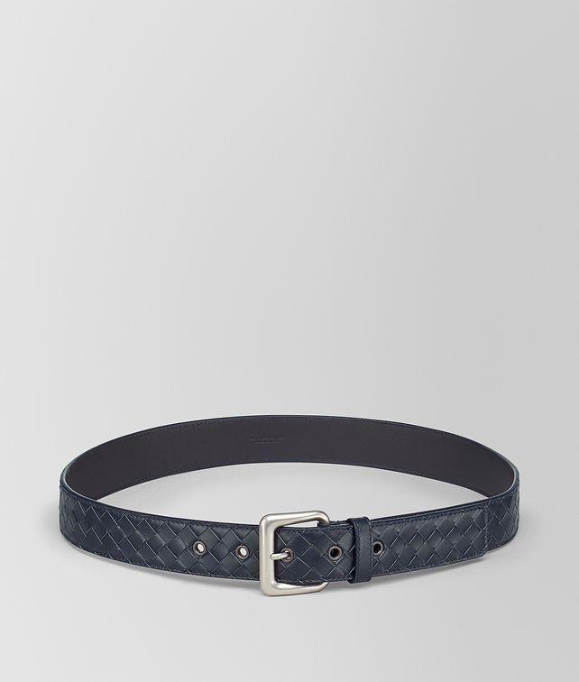 BOTTEGA VENETA LIGHT TOURMALINE INTRECCIATO BELT Belt [*** pickupInStoreShippingNotGuaranteed_info ***] fp
