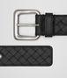 nero intrecciato belt Right Side Portrait