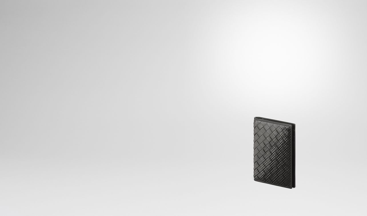 light grey intrecciato nappa card case landing
