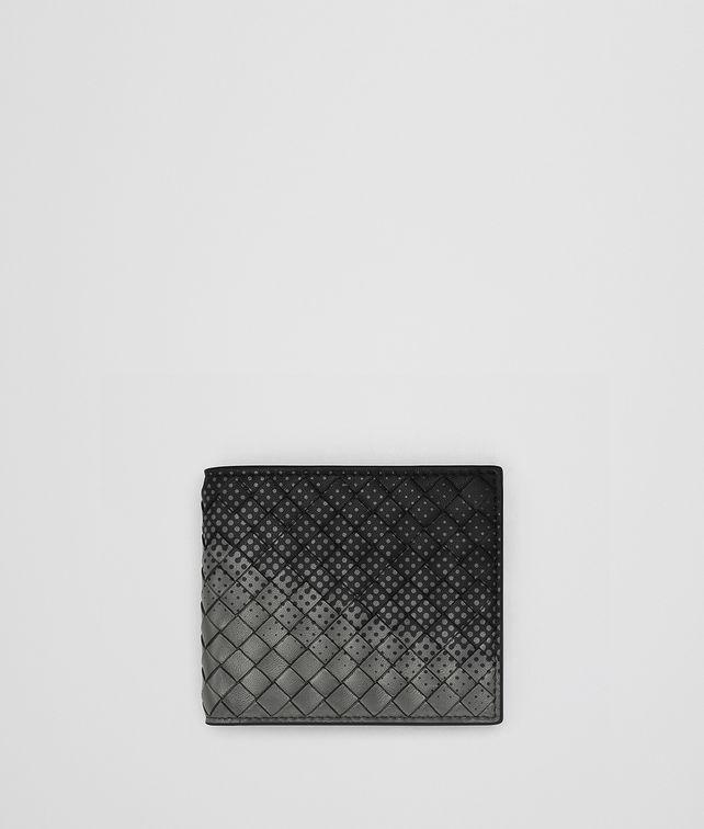 BOTTEGA VENETA NERO INTRECCIATO NAPPA WALLET Bi-fold Wallet Man fp