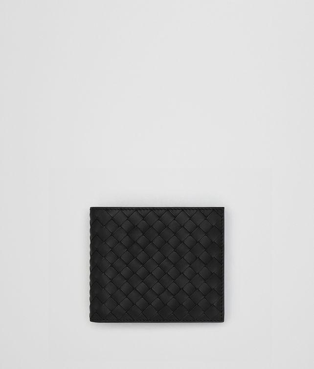 BOTTEGA VENETA NERO INTRECCIATO WALLET Bi-fold Wallet Man fp