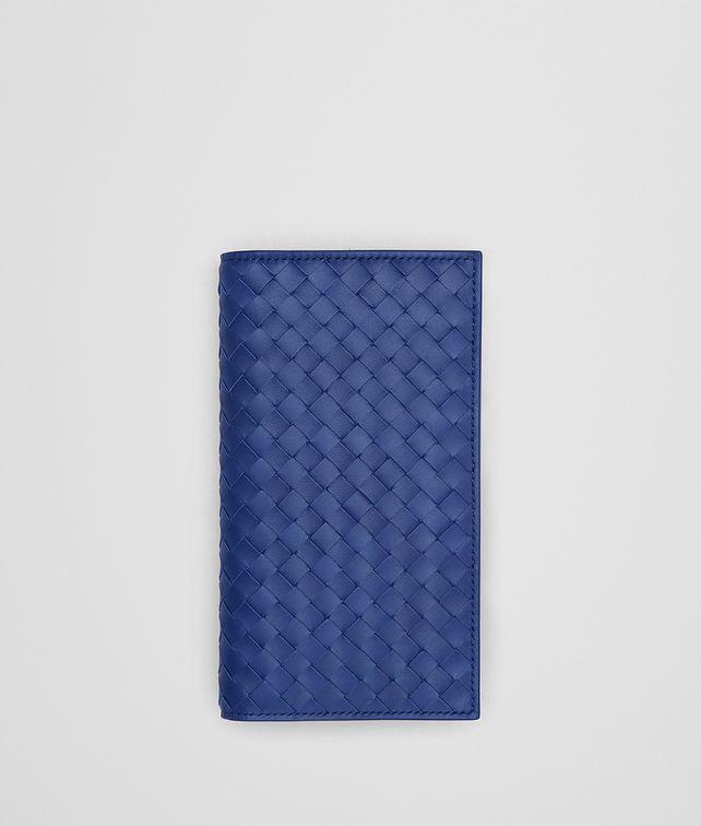 BOTTEGA VENETA COBALT BLUE INTRECCIATO CONTINENTAL WALLET Continental Wallet Man fp