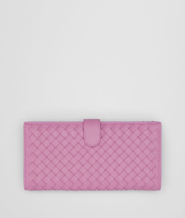 BOTTEGA VENETA TWILIGHT INTRECCIATO NAPPA CONTINENTAL WALLET Continental Wallet Woman fp
