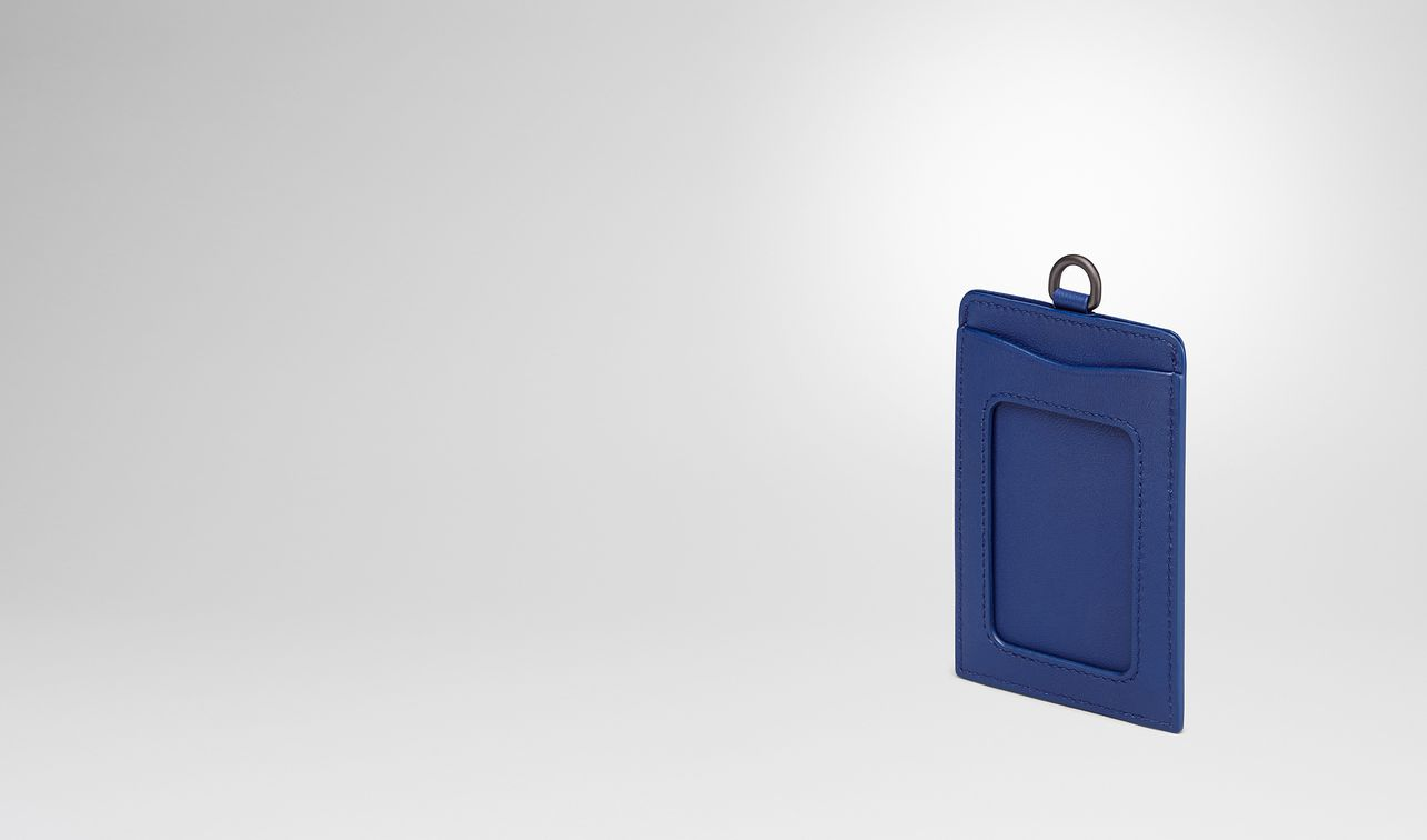 cobalt intrecciato nappa train pass case landing
