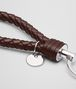 BOTTEGA VENETA DARK BAROLO INTRECCIATO NAPPA KEY RING Keyring or Bracelets E ap