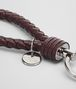 BOTTEGA VENETA DARK BAROLO INTRECCIATO NAPPA KEY RING Keyring or Bracelets E ep