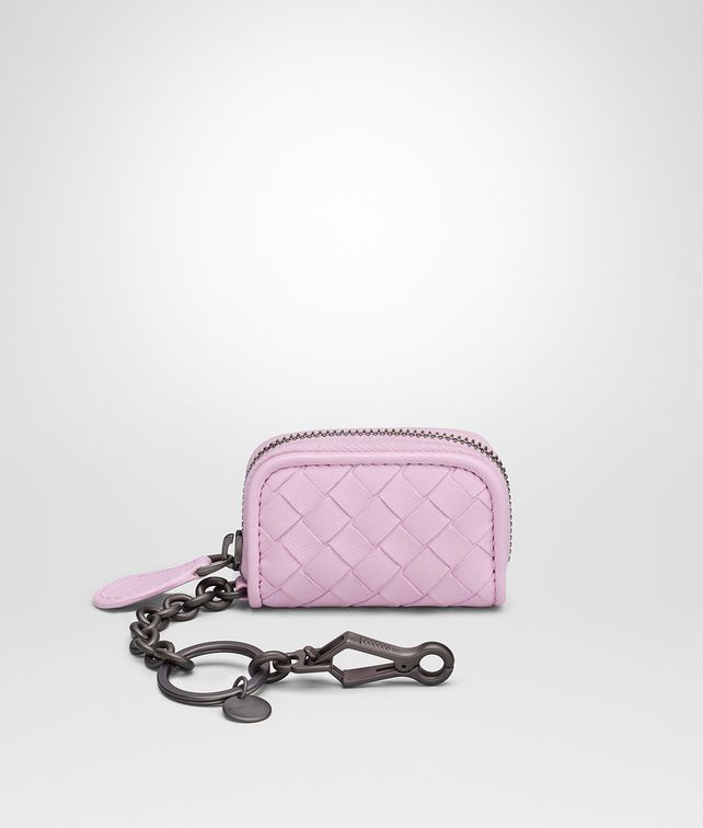 Bottega Veneta dragee Intrecciato nappa key ring - Pink & Purple sMDgw3INd