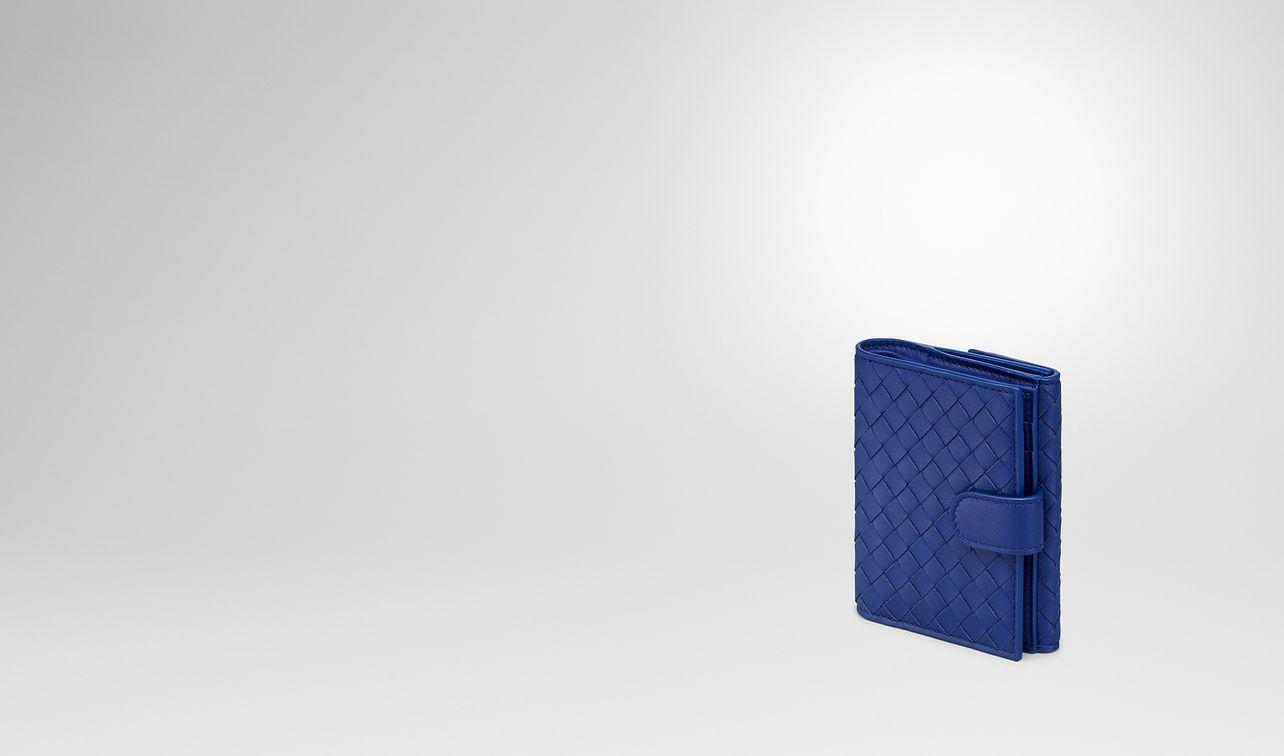 cobalt intrecciato nappa mini wallet landing