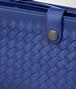 cobalt blue intrecciato calf multi-functional case Full Out Portrait