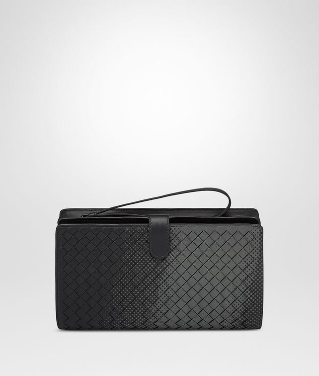 BOTTEGA VENETA NERO INTRECCIATO NAPPA MULTI-FUNCTIONAL CASE Other Leather Accessory Man fp