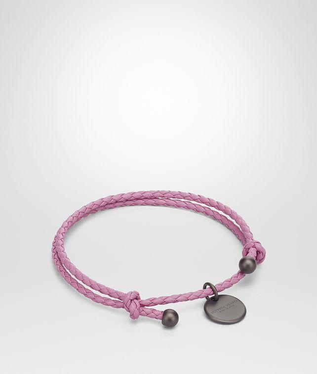 BOTTEGA VENETA TWILIGHT INTRECCIATO NAPPA BRACELET Keyring or Bracelets E fp