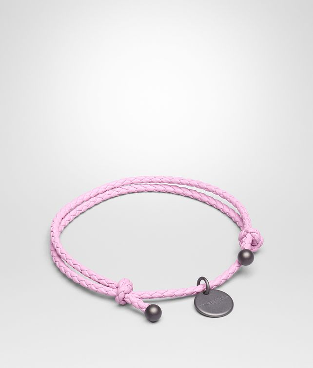 BOTTEGA VENETA DRAGEE INTRECCIATO NAPPA BRACELET Keyring or Bracelets E fp