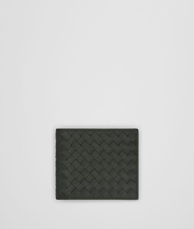 BOTTEGA VENETA DARK MOSS INTRECCIATO WALLET Bi-fold Wallet Man fp