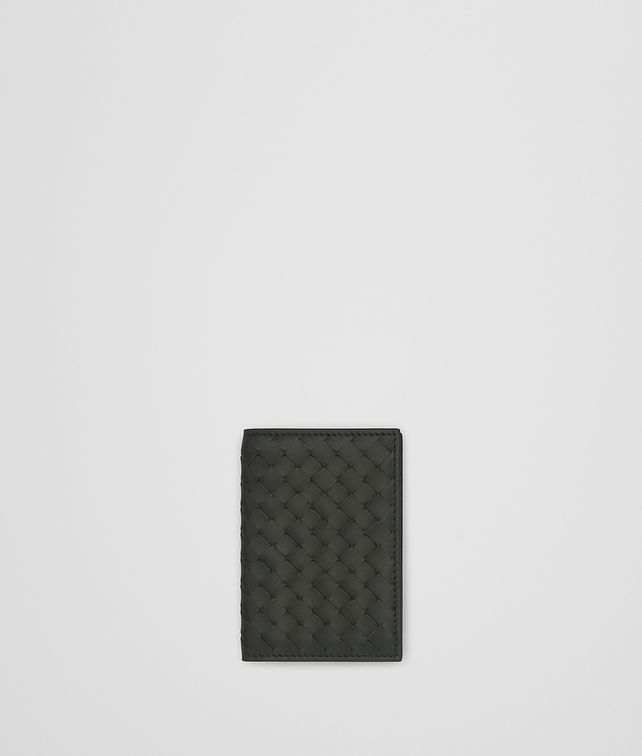 BOTTEGA VENETA DARK MOSS INTRECCIATO CARD CASE Card Case or Coin Purse [*** pickupInStoreShippingNotGuaranteed_info ***] fp