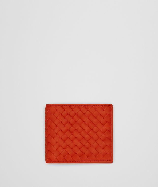 BOTTEGA VENETA TERRACOTTA INTRECCIATO WALLET Bi-fold Wallet Man fp
