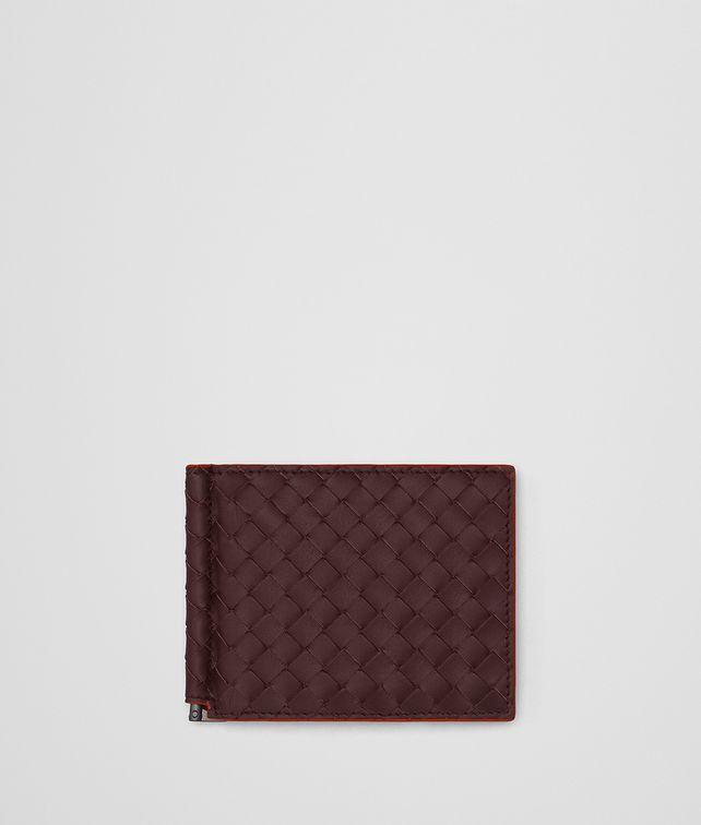 BOTTEGA VENETA DARK BAROLO INTRECCIATO WALLET Bi-fold Wallet Man fp