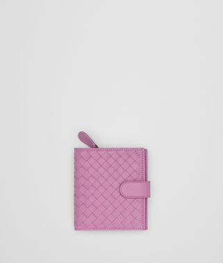 TWILIGHT INTRECCIATO NAPPA MINI WALLET