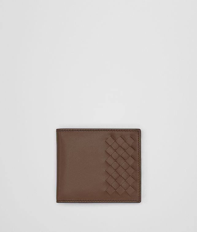 BOTTEGA VENETA DARK CALVADOS NAPPA WALLET Bi-fold Wallet Man fp