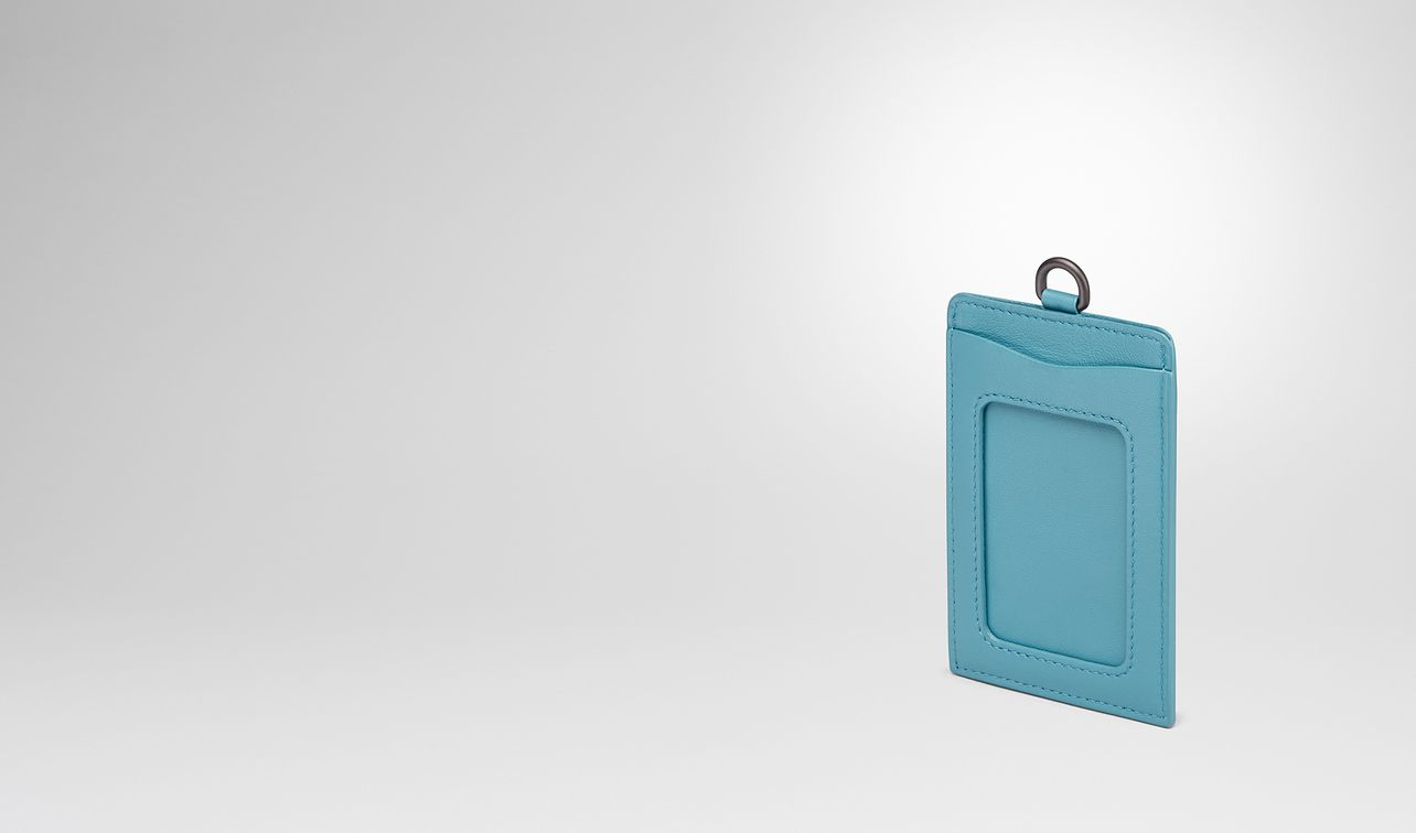 aqua intrecciato nappa train pass case landing