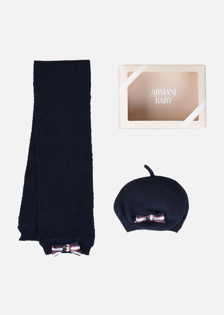 50-70% di sconto pensieri su vari stili Completo sciarpa e cappello coordinati | Bambina | Armani Junior