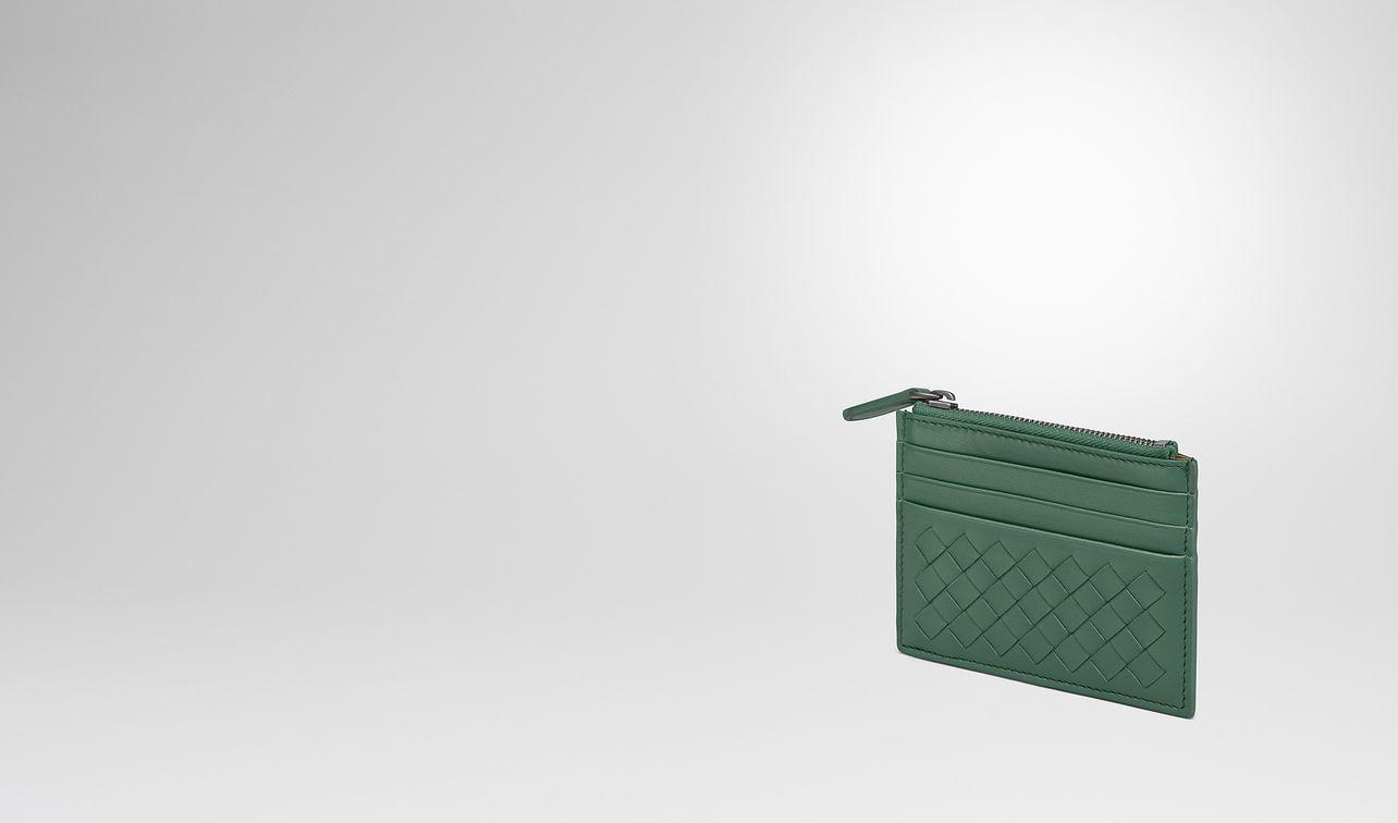 thyme intrecciato nappa card case landing