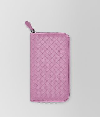 TWILIGHT INTRECCIATO NAPPA ZIP-AROUND WALLET