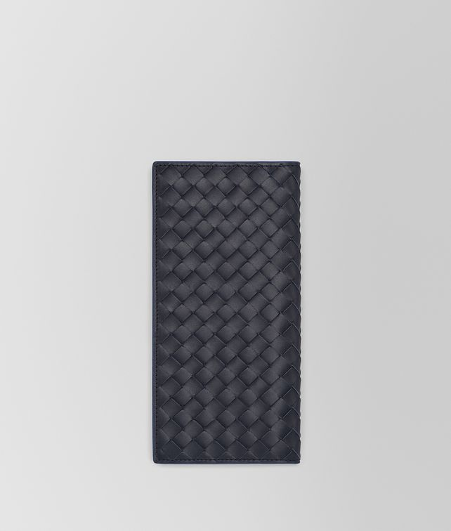 BOTTEGA VENETA LIGHT TOURMALINE INTRECCIATO CONTINENTAL WALLET Continental Wallet Man fp