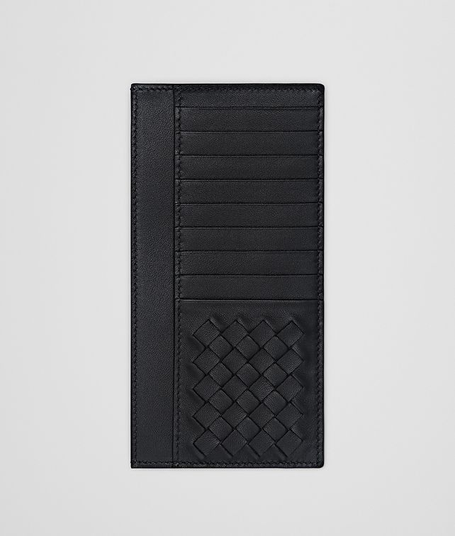 BOTTEGA VENETA NERO NAPPA CARD CASE Card Case or Coin Purse Man fp