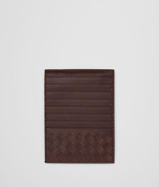 COBALT INTRECCIATO NAPPA CARD CASE
