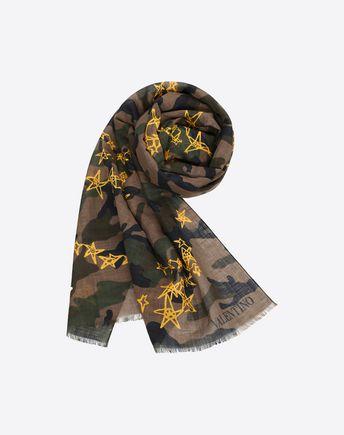 VALENTINO UOMO Scarf U VLTN bandeau scarf f