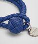 cobalt intrecciato nappa bracelet Front Detail Portrait
