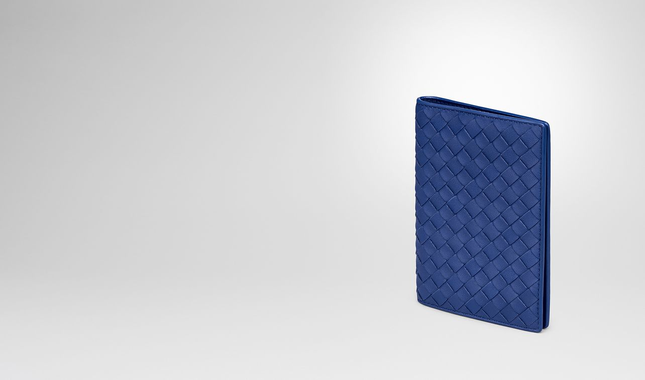 cobalt intrecciato nappa passport case landing