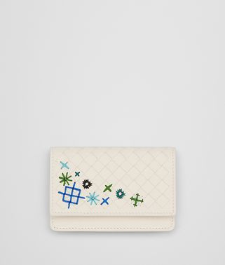 MIST INTRECCIATO MEADOW FLOWER CARD CASE
