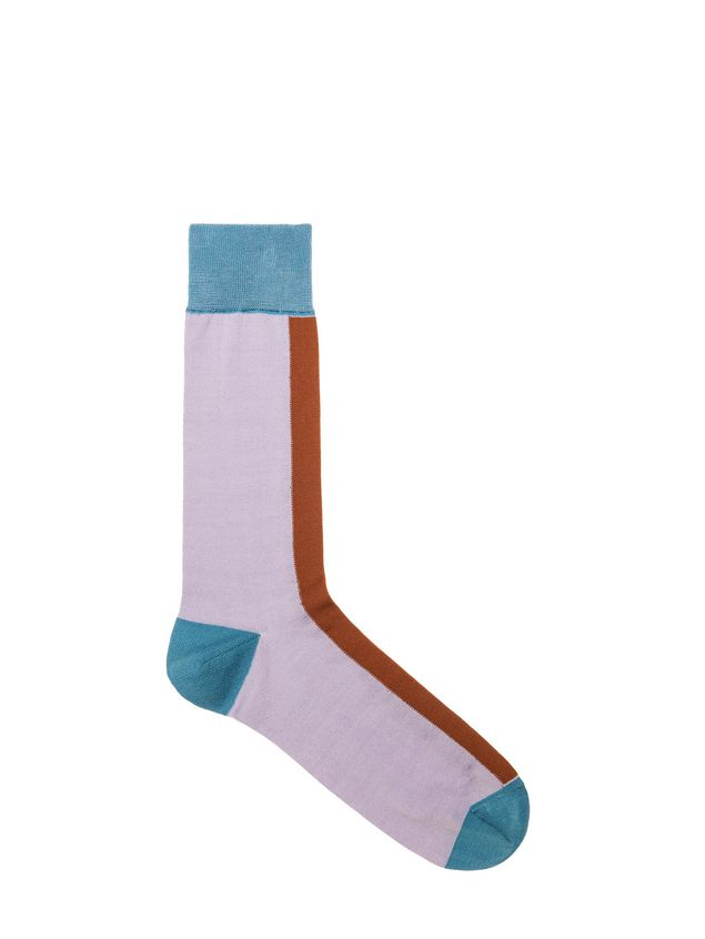 entire collection various styles really comfortable Socks In Contrasting Coloured Cotton | Marni